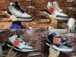 Wholesale retro black white cement GS infrared wolf grey men women basketball shoes sneakers Good Quality Version quality US size