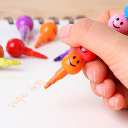Wholesale-free shipping New cute Candied haws on a stick 7 colors Crayons Promotion Gift Wholesale