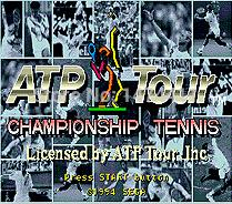 Wholesale Brand New Bit Game Cartridge Classic Game Card for Sega Mega Drive Genesis ATP Tour Championship Tennis