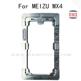 Wholesale Precision Aluminium metal Alignment Mould For MEIZU MX3 MX4 LCD Touch Screen Panels Separator Lit Repair Tool Mold Machine