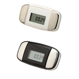 Wholesale LCD Multi function Sports Heart Rate Pulse Monitor Pedometer Step Calorie Distance Counter Y0403