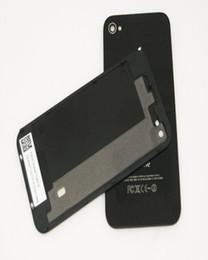 2017 iphone vidrio de alta calidad Reemplazo de la alta calidad del reemplazo de cristal trasera de la vivienda puerta de la batería de la cubierta de la parte con difusor de flash para el iphone 4 4G 4S al por mayor iphone vidrio de alta calidad en oferta