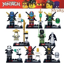 Wholesale 2015 New Arrival SY285 Ninjago Kai Ninja Minifigures Building Blocks Set Model Bricks Toys Aciton Figures Compatible