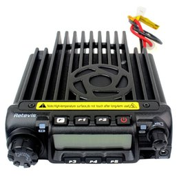 Wholesale New Car Radio UHF MHz W CH CTCSS DCS Group Scrambler VOX Scan Retivis RT D Two Way Radio A9100 Eshow