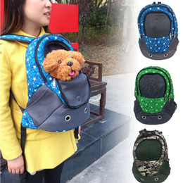 Wholesale New Arrival Pet chest package warmth bag portable backpack double shoulder dog pet bag dog travel carrying bag