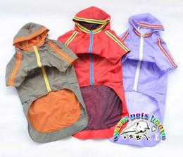 YY002 Pet Clothes Clothing For Large Dog Raincoat Nylon Dog Raincoat Waterproof Dog Coats Puppy Outfits