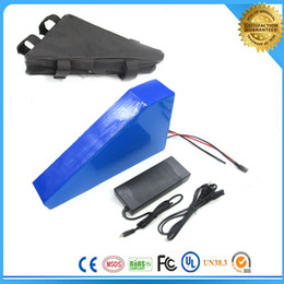 Free Bag of electric bike battery 48v lithium battery 48V 20AH 1000w Electric Bicycle Battery ,with 54.6V 2A charger 30a BMS