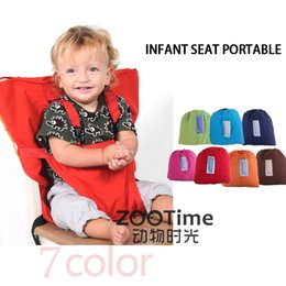 Wholesale Baby Chair Portable Infant Seat Product Dining Lunch Chair Seat Safety Belt Feeding High Chair Harness Baby chair seat