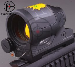 Wholesale Tactical Hunting Shooting New arrival Solar Power System Trijicon SRS Red Dot Sight With QD Mount With Kill Flash