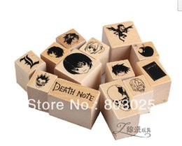 Free Shipping 13pcs set Kids Toys Death Note Anime Figure Seals, Cute Gifts For Anime Fans