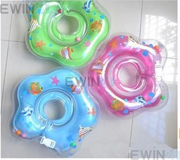 Wholesale Kids Air Inflator Swim Neck Float Ring Baby Swimming Circle New Brand Hot Sale Popular Sold by EWIN24