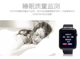 Wholesale T8 Smart Watch Android Kitkat G GSM G WCDMA Bluetooth V4 WiFi GPS AGPS FM Sleep Monitoring Pedometer Sedentary Reminder