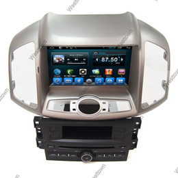 Pure android capacitive screen car dvd cd player built in radio rds wifi radio fit for Chevrolet Captiva 2013 8030A