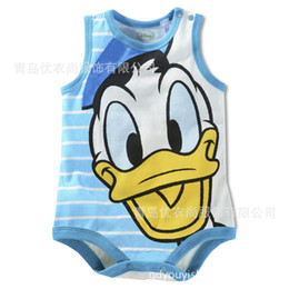 Wholesale-Children's clothing wholesale 2015summer vest ha clothes, baby climb clothes, jumpsuit, baby clothes