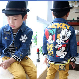 New Summer Style Spring And Autumn Children Jackets Floral Print Denim Baby Girl Coat Casual Girls Jacket