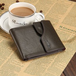 Hot sale Casual men wallets leather designer button card holders photo bits 2 fold multifunction purse wallet free shipping