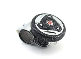 Wholesale Interior Accessories Steering Covers Racing R Auto Truck Lorry Steering Wheel Aid Power Handle Assister Spin Knob Ball