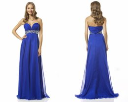 Wholesale 2015 Rust Red Chiffon Floor Length Evening Dresses Crystals Beading Sash A Line Backless Vestidos Winter Formal Vestidos New Prom Gowns