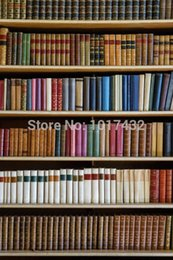 Wholesale Thin vinyl x6ft Photography Studio Senior Vinyl Background Digital Screen Antique Books Backdrops D