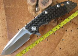 Wholesale Hong Kong Registered Post New Hinderer WILD BOAR XM Carbon Fiber Or G Handle Camping Outdoor Pocket Folding XM18 Knife