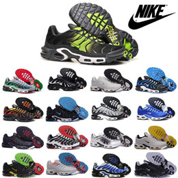 Nike Air Max TN Men Running Shoes New Sneakers Cheap Athletic Boots High Quality Mens Outdoor Sport Shoes Size US online