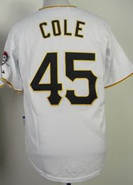 Wholesale 2015 Gerrit Cole White Cool Base Baseball Jersey Baseball Jersey Buy Various High Quality Baseball Jersey Products