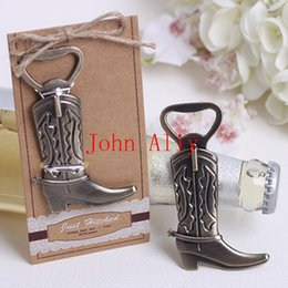 Wholesale Cowboy Boot Bottle Opener Wedding Favors And Gifts Wedding Supplies Wedding Souvenirs Wedding Gifts For Guests