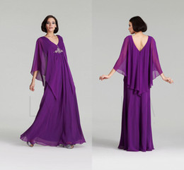 Elegant Purple Mother of the Bride Dresses