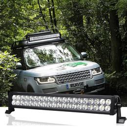 Double Row 3W Led Light Bar 21.5inch led flood light 120W IP67 offroad led working light bar for offroad atv utv JEEP