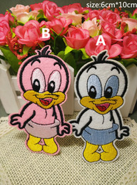 Free Shipping~duck fashion Iron On Embroidered Patch Appliques DIY bag clothing patches Applique Badges
