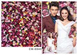6.5*10FT(200x300CM)Wedding Backgrounds Photography Backdrops Romantic Fonds Fotografia Vinyl Backdrops For Photographic Backdrops cm-6940