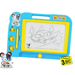 Wholesale Plastic Magnetic Drawing Board Sketch Sketcher Writing Painting Craft Art For Kids Children Multi Color