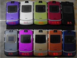 Wholesale HOT SELL V3 Quadband Refurbished Original Razr AT T T Mobile Unlocked Cell Phone Hot sale