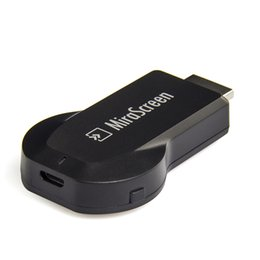 Compra Online Androide tv stick dlna-1pc Mirascreen AM8252 tv palo Acciones 8252 Linux push tesoro WIFI tablet phone soporte compartición Airplay + DLNA + Miracast