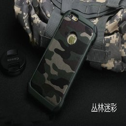Wholesale camouflage army camo heavy duty case cover for iphone plus sumsung s6 note4 S6 edge plus A5 A8 with retail box