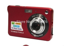 18Mp Max 3Mp CMOS Sensor Digital Cameras 4x Digital Zoom and Rechareable Lithium Battery, Free Shipping