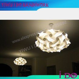 Wholesale-New arrival bar decoration puzzle lamp romantic Jigsaw puzzle lampshade room decoration light lamp free shipping