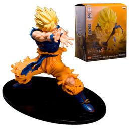 Prettybaby Dragonball 5 17cm Son Goku KAMEHAMEHA WAVE action figures anime DBZ Kakarotto plastic toys Pt0219#