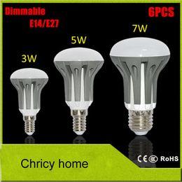 Super bright E14 E27 3W 5W 7W Umbrella Bulb LED lamps 2835SMD AC185V-265V LED Pendant light R39 R50 R63 for home lighting