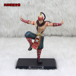 LOHigh Quality Wholesale Action Figure Lee Sin The Blind Monk 18cm PVC LOL Figure Model Toys For Boy's Gift Anime Figur