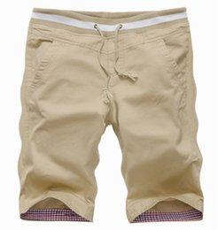 Wholesale 2015 New Arrival Summer Mens Casual Shorts Male Slim Beach Shorts High Quality Cotton Shorts Plus Size XL Shorts Men colors