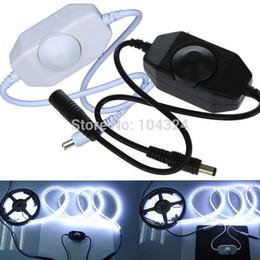 Wholesale New V LED Brightness Adjust Dimmer Controller for LED Light Strip Lamp Hot