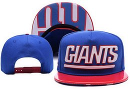 Wholesale Giants Hats Snapback Hats Football Snap Back with Cool Sun Hats Top Quality Ball Caps New Trucker Hat Adjustable Sports Cap
