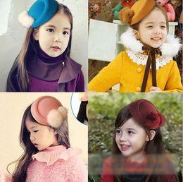 Wholesale Rabbit ears hat children kids baby girls hair accessories hair bands headwear bow flower Retail Boutique tiara