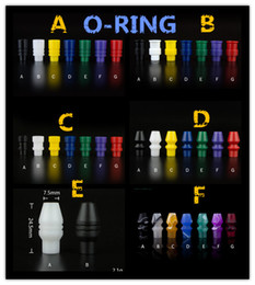 Friction fit wide bore delrin drip tip 510 types mouthpieces fit for smile atomizer elcetronic cigarette with fast shipping