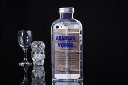 Wholesale iphone I6 G S Absolute Vodka Alcohol Bottle Transparent TPU Gel Crystal Clear Snap On Soft Case Cover for iphone5 Cases Skin