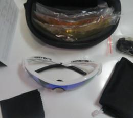 UV400 Protection lens High quality 56 frame Cycling sunglasses men's Polarized Sport sunglasses 5 lens