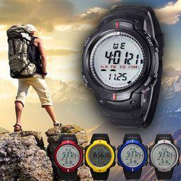 Branded Watches Mens Top Brand Luxury Climbing Waterproof Outdoor Mountaineering Sports Men Digital Watch LED Quartz Wrist Watch