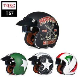 Brand New Vintage helmet TORC Antiqued motorcycle helmet for chopper bikes for Harley bikes motorcycle helmet