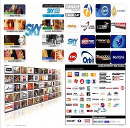 Wholesale Europe Server Cccam Cline Sat SD HD SKY UK SKY DE SKY ITALY CANAL DIGITAL Euro package for year